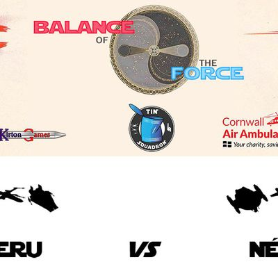 Balance of the Force, round 5: Enzeru (Rebel Alliance) vs Nébal (Scum and Villainy) (battle report in English)