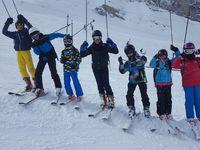 Sept élèves en quête de glisse à Gourette