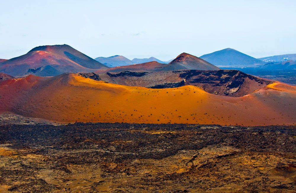 Le parc national de Timanfaya / Canaries