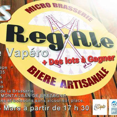 Brasserie la Reg'Ale - Végétal Passion - Réouverture