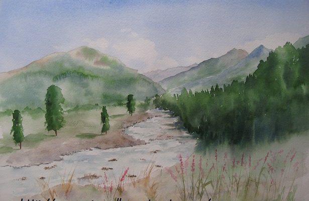 l'été dans les Pyrénées