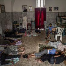 """Gaza : à l'église Saint-Porphyre, un prêtre héberge les déplacés avec """"amour"""""""