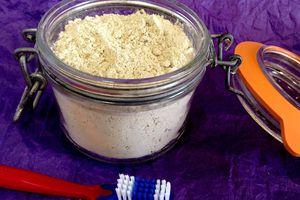Poudre dentifrice au Siwak, menthe et citron