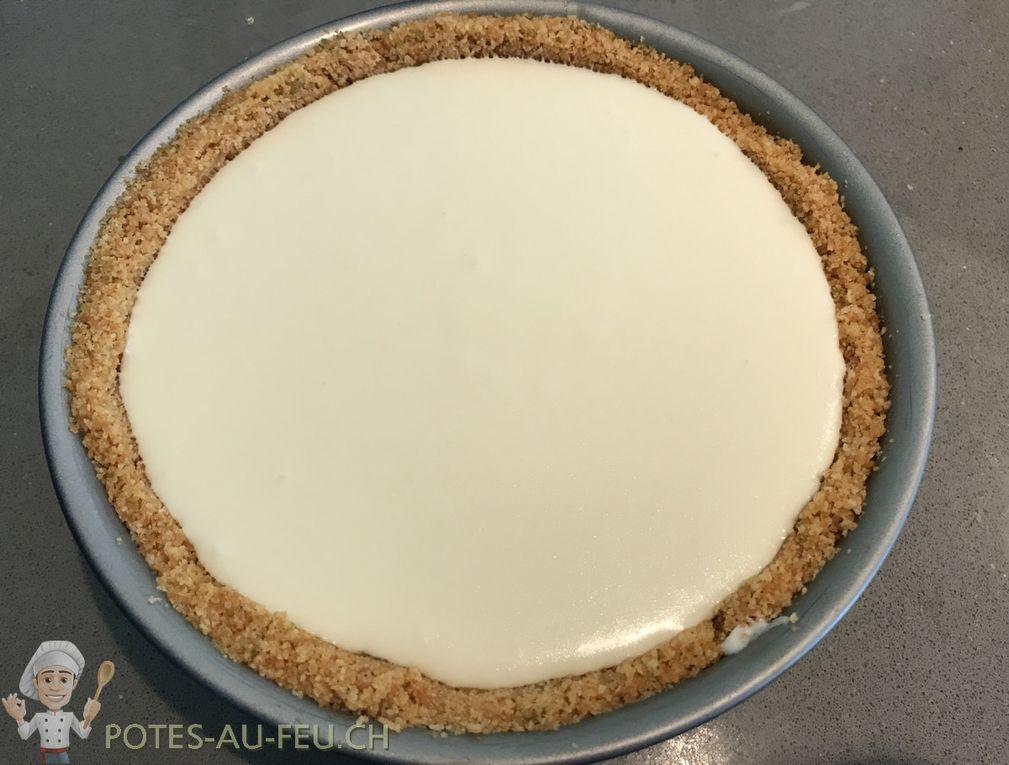 Cheesecake Menthe et Citron Vert (Mojito)
