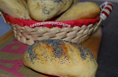 Petits pains au yaourt et graines de pavot