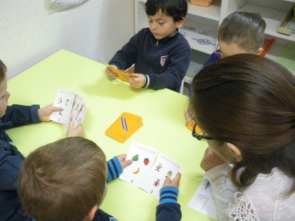 Les jeux dans la classe de Sylvie