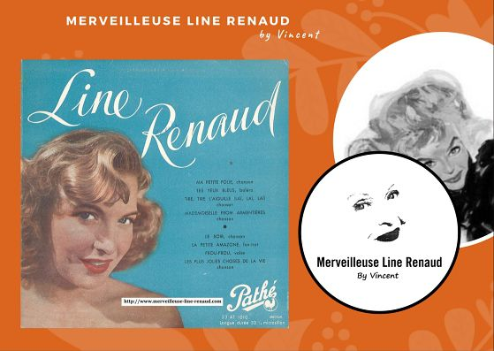 33 TOURS: 1950 Pathé  - 33 AT 10010 - Line Renaud