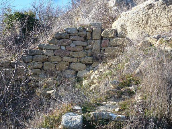 Pans de murs...