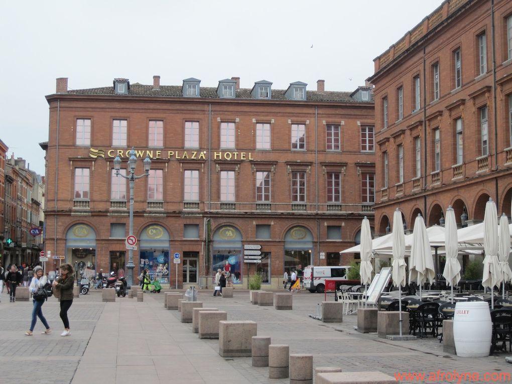 Le centre ville de Toulouse