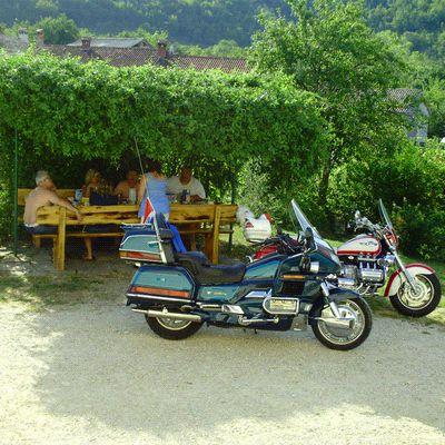 Goldwing Unsersbande - Croatie Ile de Cres en Moto