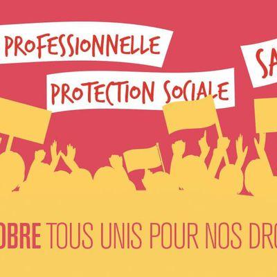 5 octobre pour nos droits et le progrès social