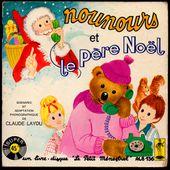 nounours et le père noël - 45t le petit ménestrel ALB136 - - l'oreille cassée