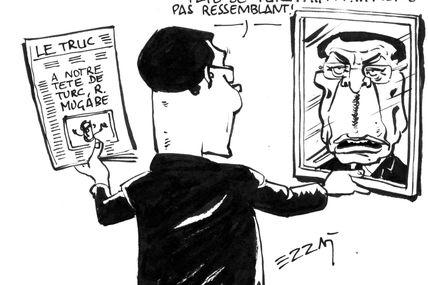"""Sarkozy, """"Petit zizi"""" de la croissance, tu dis quoi des 9% du Zimbabwe de Mugabe ?"""