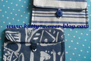 Couture : Trousses à bouton