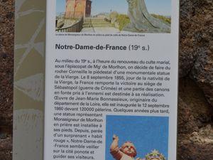 Notre-Dame-De-France semble veiller sur les Ponots (habitants du Puy).