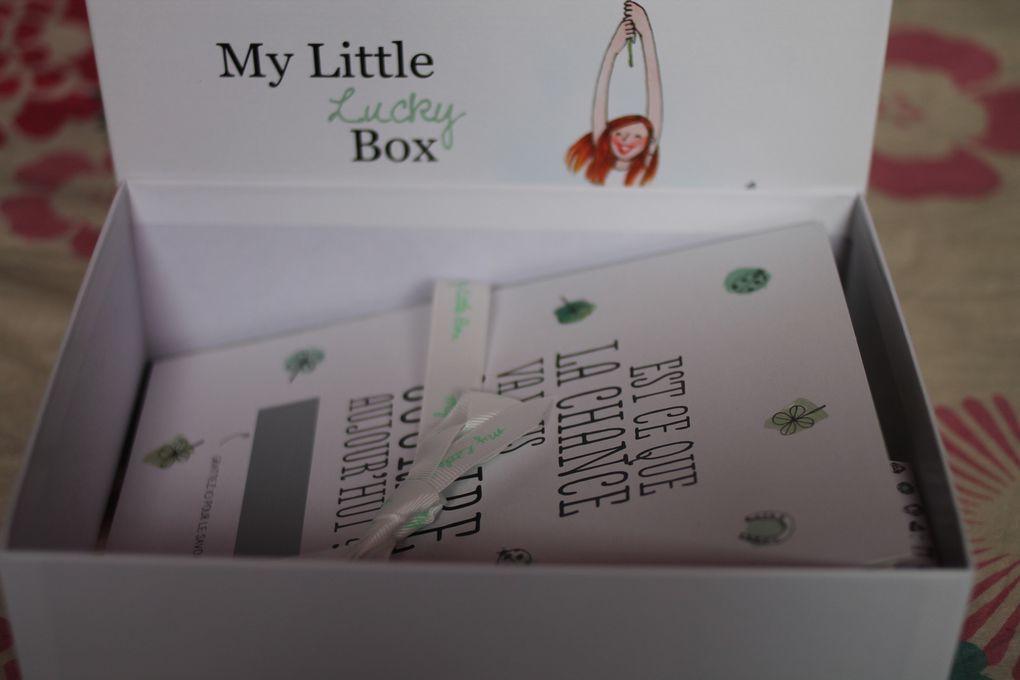 Coincidence ou pas, la chance m'a effectivement sourie le jour où j'ai ouvert la box =)