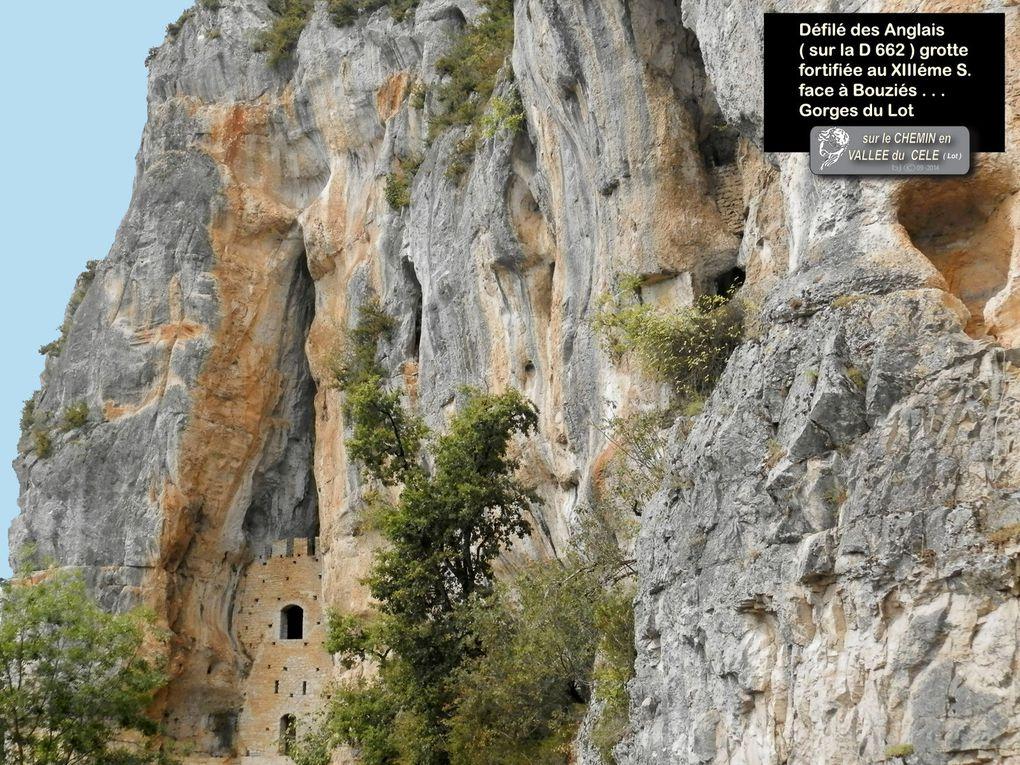 5éme JOUR de SAULIAC ( GR 651 ) à St CIRQ LAPOPIE - ( GR 36-46 )