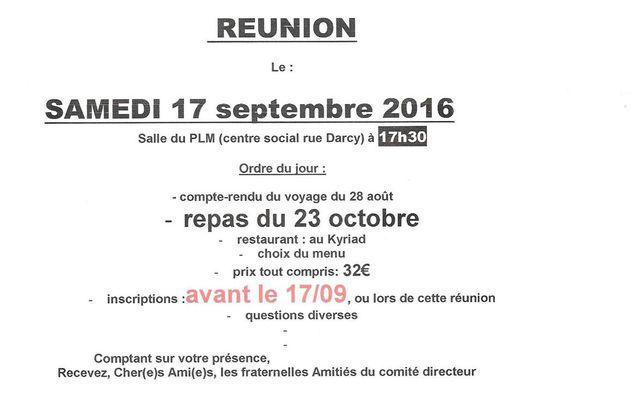 réunion générale des filles et des gars de la gare-Montchanin-17.09.2016