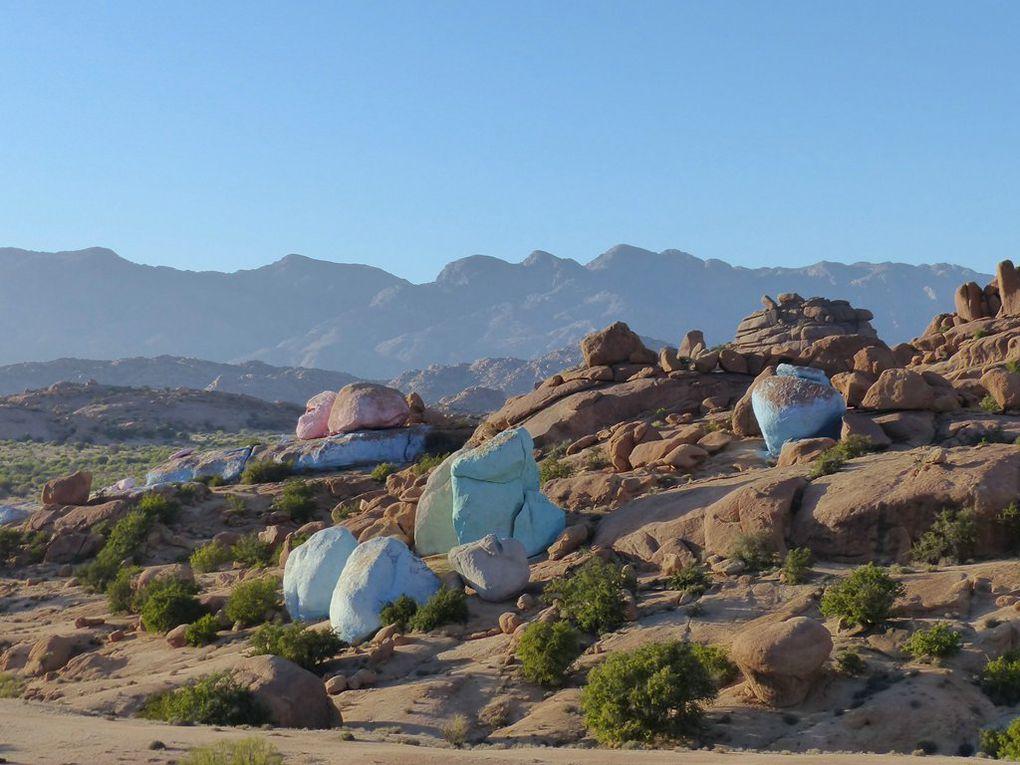 2016 - Agadirs et rochers peints