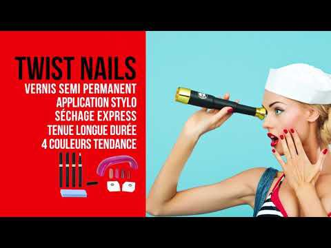 [Test] Vernis semi-permanents Twist Nail