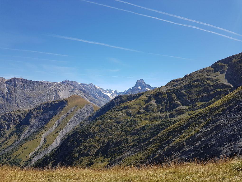 Cime du Pied de Barry (2637m) et la Coche (2328m)