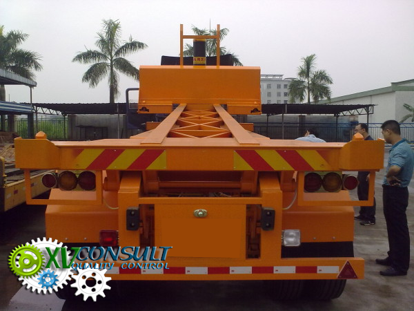 """Export China, manufacturing, quality control , semi trailers dumper  20"""" 2 axles - 40"""" 3 axles  , transport and export service . :info@xvconsult.com"""