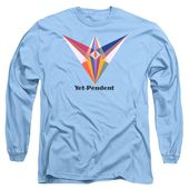 Yet-pendent Text Long Sleeve T-Shirt for Sale by Michael Bellon