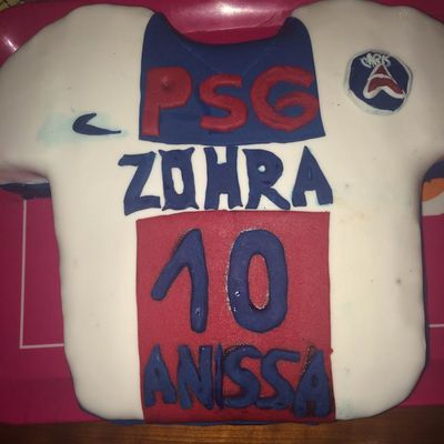 Maillot PSG pour Zohra et Anissa