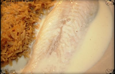 Poisson sauce fromage (thermomix)