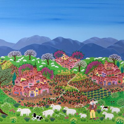 Gecko Art ! naive painting gallery