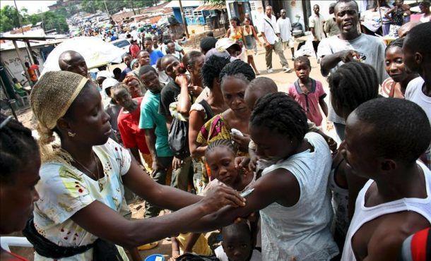 Imágenes emergencia sanitaria en Angola por fiebre amarilla.-  El Muni.