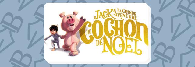 Jack & la grande aventure du cochon de Noël nouveau roman jeunesse de J.K. ROWLING