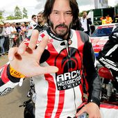 Keanu Reeves brings some A-Lister magic to Goodwood Festival of Speed