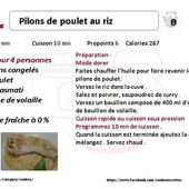 Recette cookeo pilons de poulet au riz weight watchers |