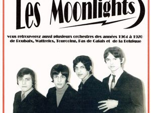 moonlights, un groupe français formé en 1966 et composé de musiciens de la région de roubaix