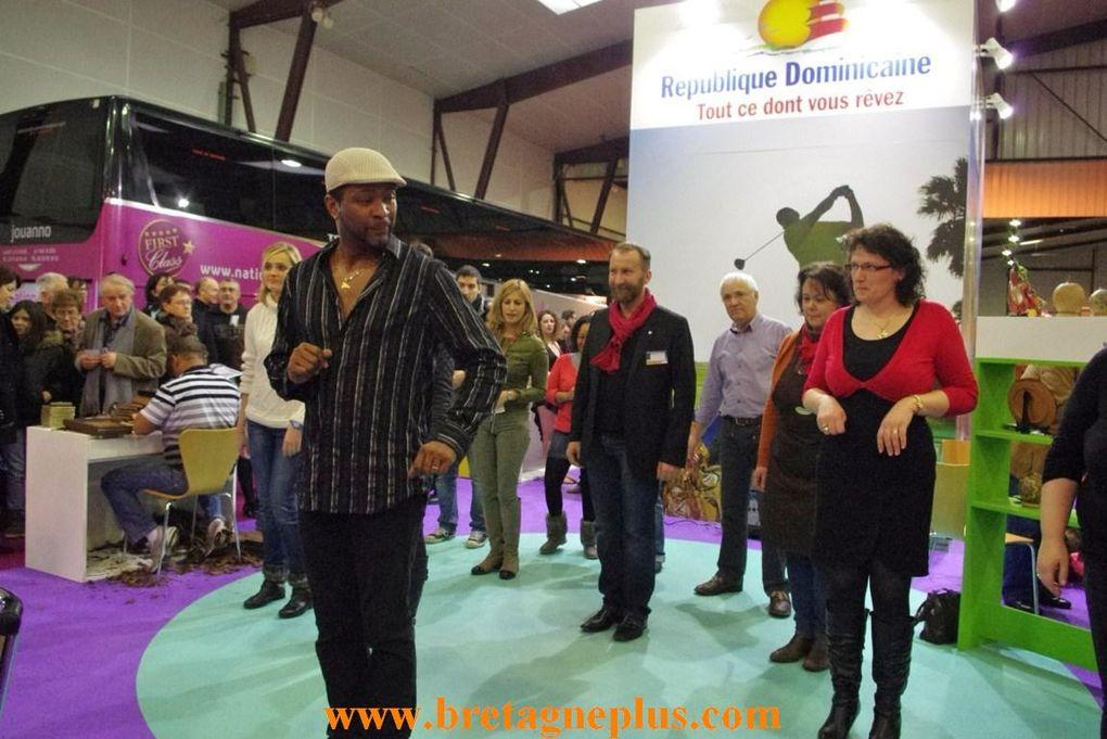 Pendant 3 jours, les 25, 26 et 27 Janvier, se déroulait au Parc des Expositions  de Rennes aéroport, le SALON INTERNATIONAL du TOURISME de Rennes 2013