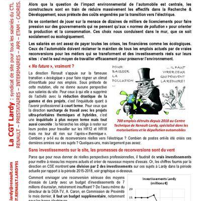 Renault Lardy : transition écologique ou course aux profits