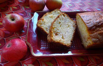 Cake aux pommes, encore un...