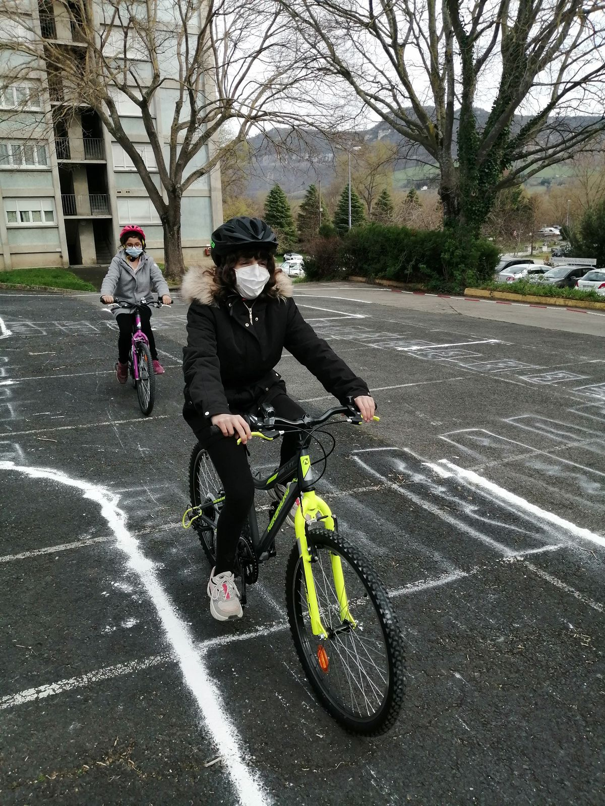 Les CM2 ont passé le permis vélo