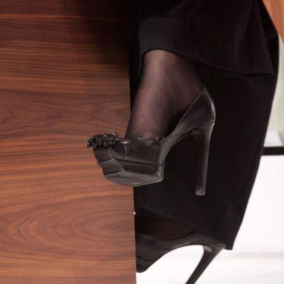 Aux pieds des dames