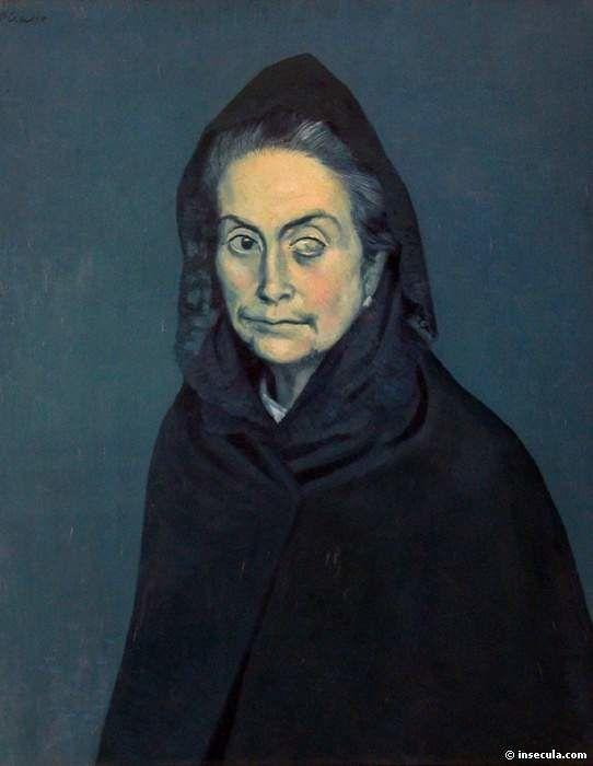 La période bleue correspond aux années 1901-1904 : ce nom vient du fait que le bleu est la teinte dominante de ses tableaux de cette époque, qui a débuté avec le suicide de son ami espagnol Carlos Casagemas...