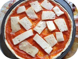 Pizza aux fromages