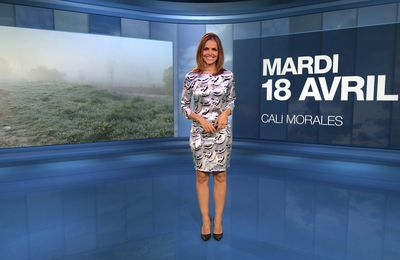 📸3 📺1 LA METEO de CAROLINE 'CALI' MORALES ce soir sur M6