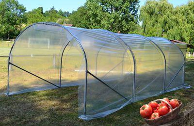 10% de remise sur une serre de jardin MINIMAX 3 m de large