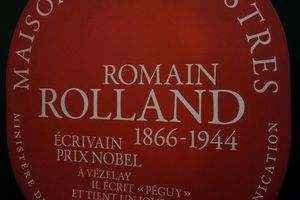 Romain Rolland à Vézelay