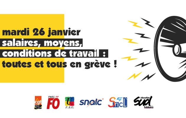 Grèves du 26 janvier et 4 février