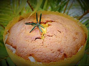 Gâteau ou Muffins à l'Huile d'Olive, Tangor et Romarin