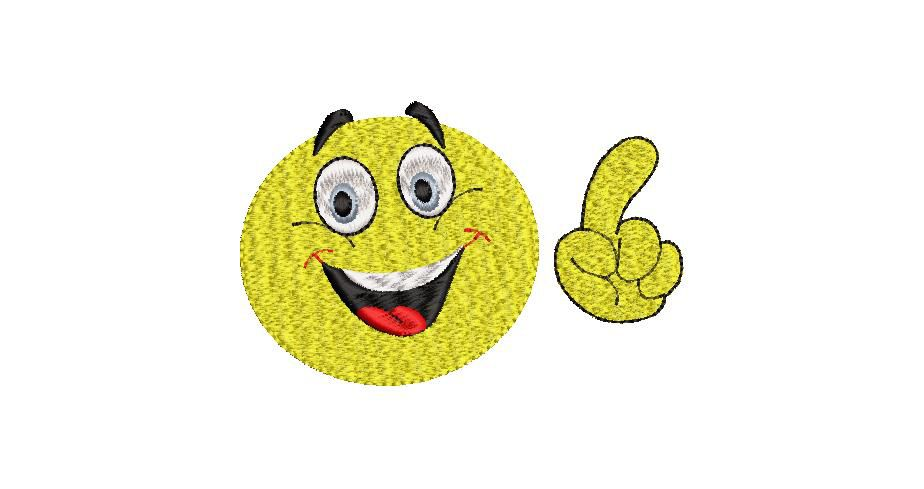 BRODERIE SMILEY 3