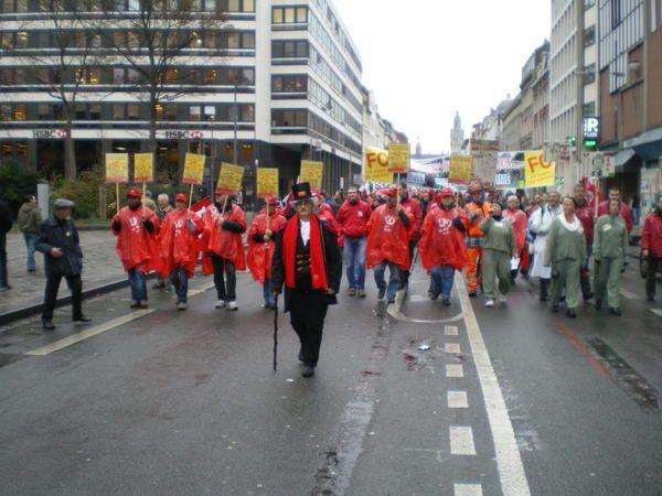 Photos de la manifestation lilloise