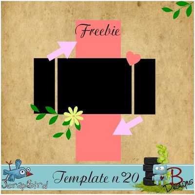 Template n°20 by Bdesigns